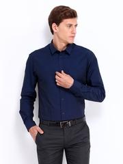 Men Navy Slim Fit Formal Shirt Arrow New York