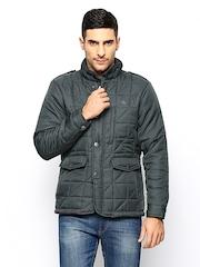 Arrow Sport Men Grey Sports Jacket