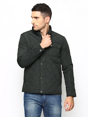 Arrow Sport Men Charcoal Grey Sports Jacket