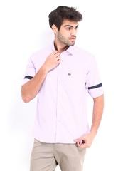 Arrow Sport Men Lavender Regular Sport Fit Casual Shirt