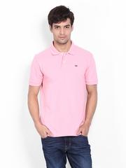 Arrow Sport Men Pink Polo T-shirt