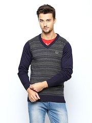 Arrow Sport Men Purple Sweater