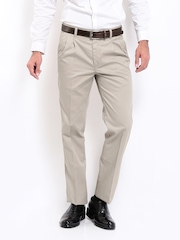 Arrow Sport Men Taupe Chino Trousers
