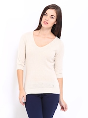 Arrow Woman Beige Sweater