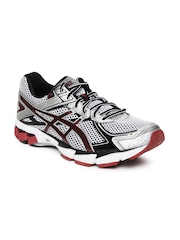 Asics Men Black & Silver Toned GT 1000 2 Sports Shoes
