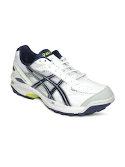 Asics Men White Gel Peake Sports Shoes