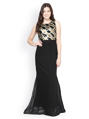 Athena Black Maxi Dress