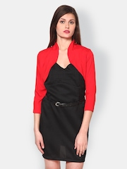 Athena Women Red Shrug