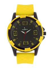 Aveiro Men Black Dial Watch AV14YELSIL