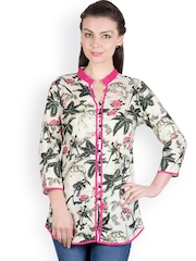 Ayaany Women Multicoloured Printed Kurti