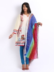 BIBA Women Multi-Coloured Printed Dupatta