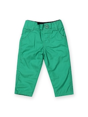 Baby League Infant Boys Green Trousers