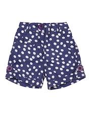 Baby League Girls Blue Shorts