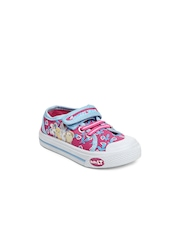 Baby Looney Tunes Girls Pink Canvas Shoes