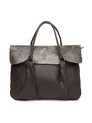 Baggit Dark Brown Oversized Handbag