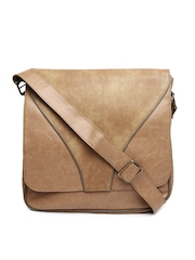 Baggit Men Brown Messenger Bag