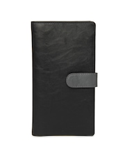 Baggit Unisex Black Passport Holder