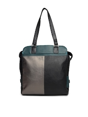 Baggit Women Black Colour Blocked Tote