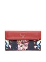 Baggit Women Red & Black Printed Wallet