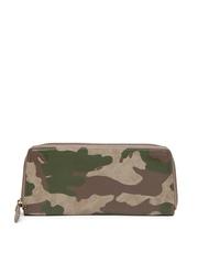 Baggit Women Brown Camouflage Printed Wallet