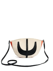 Bagsy Malone Cream Sling Bag