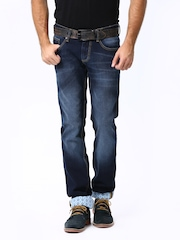 Basics Men Blue Torque Fit Jeans