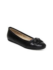 Bata Comfit Women Black Flat Shoes