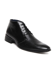 Men Black Semi-Formal Shoes Bata