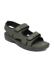 Men Olive Green Sports Sandals Bata
