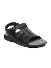 Men Black Sandals Bata