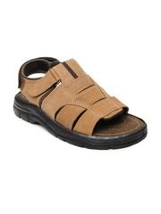 Men Brown Sandals Bata 344165