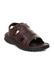 Men Brown Sandals Bata 344169