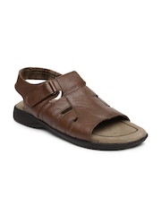 Bata Men Brown Sandals