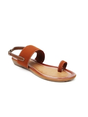 Women Brown Flats Bata 446663