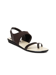 Bata Women Brown Sandals