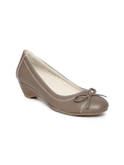 Bata Women Brown Wedges