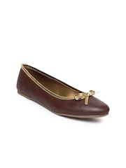 Women Brown Flat Shoes Bata