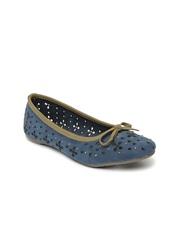 Bata Women Navy Flat shoes
