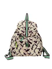 Be For Bag Women Beige Backpack