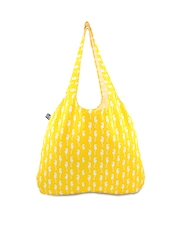 Be For Bag Women Yellow Tote Bag