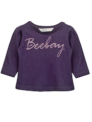 Beebay Girls Purple T-shirt