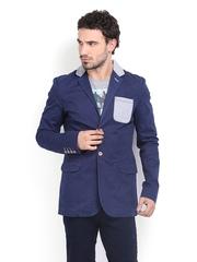 Being Human Clothing Men Blue Jacket