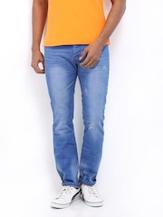 Being Human Clothing Men Blue Slim Fit Jeans