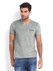 Being Human Clothing Men Grey T-shirt