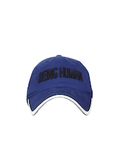 Being Human Clothing Men Blue Cap