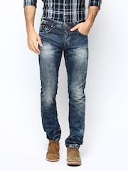 Being Human Men Navy Slim Fit Jeans