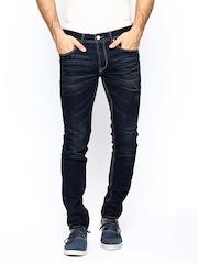 Being Human Men Navy Skinny Fit Jeans