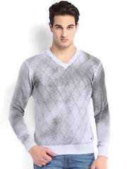 Being Human Clothing Men Grey Sweater