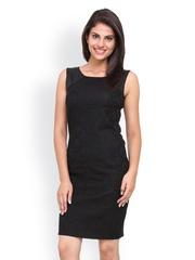 Bella Rosa Black Shift Dress