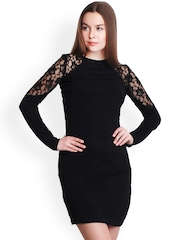 Belle Fille Black Bodycon Dress